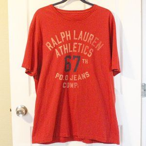 Polo by Ralph Lauren Red Graphic T-shirt